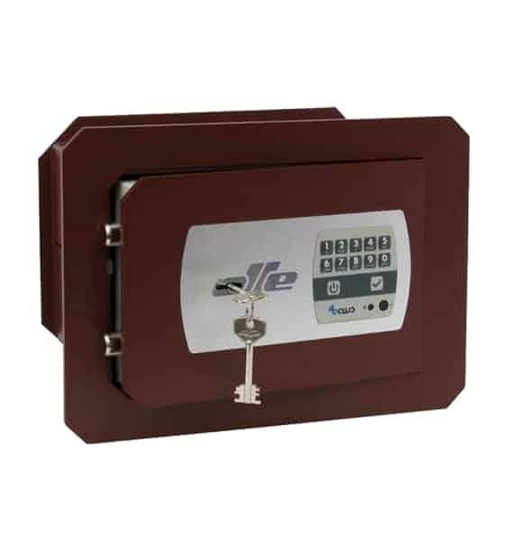 caja fuerte empotrar pared Olle 600 llave y combinación electrónica