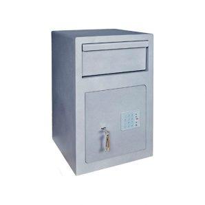 Caja fuerte sobreponer Serie Depósito con cerradura de llave y combinación electrónica