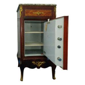 Caja Fuerte mueble Fichet Luis XVI - Interior