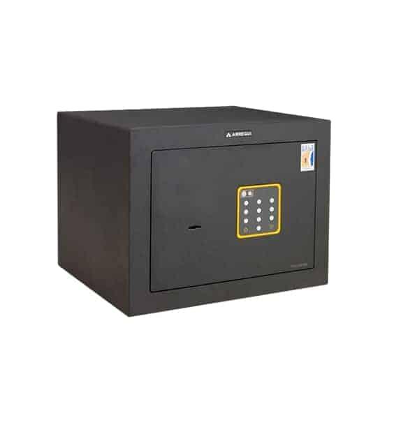Caja fuerte sobreponer Serie Forma C Gama Alta con cerradura de llave y combinación electrónica