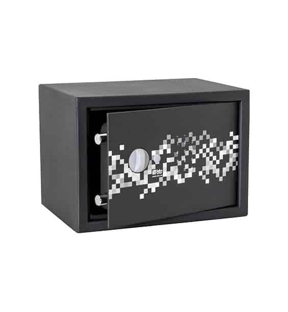 Caja fuerte sobreponer Serie Pixel con combinación electrónica