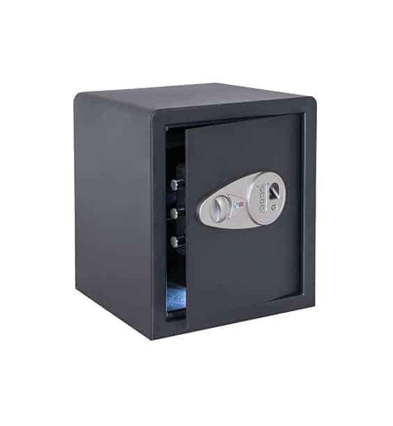 Caja fuerte sobreponer Serie Tecna Combinación electrónica y lector de huella digital